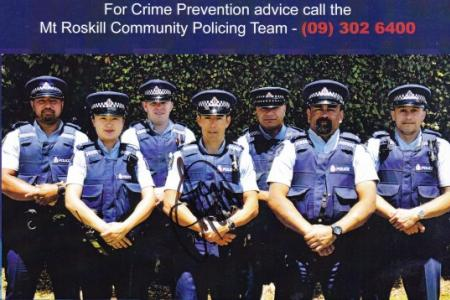 Mt roskill police team 2016