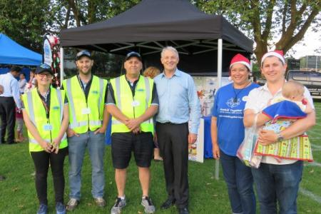Patrol group with phil goff  michael wood